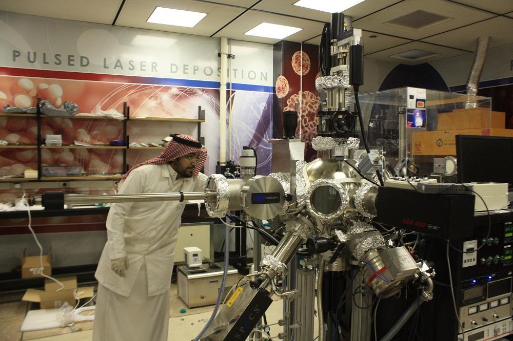 pulsed laser deposition system